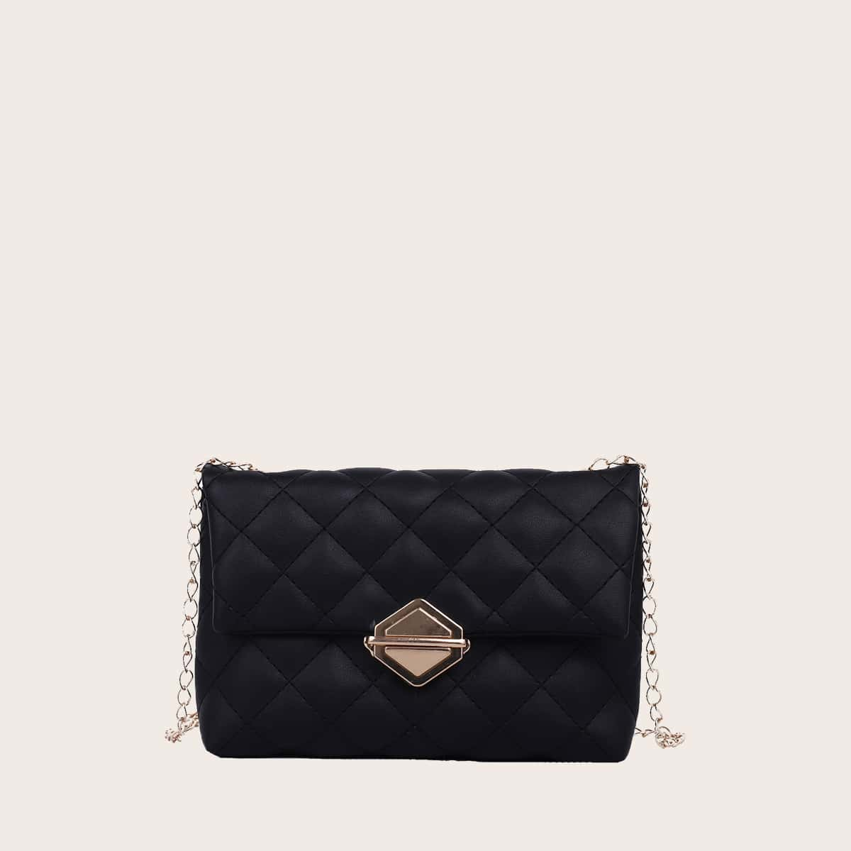 Стеганая сумка через плечо для девочек SheIn skbag18210105265