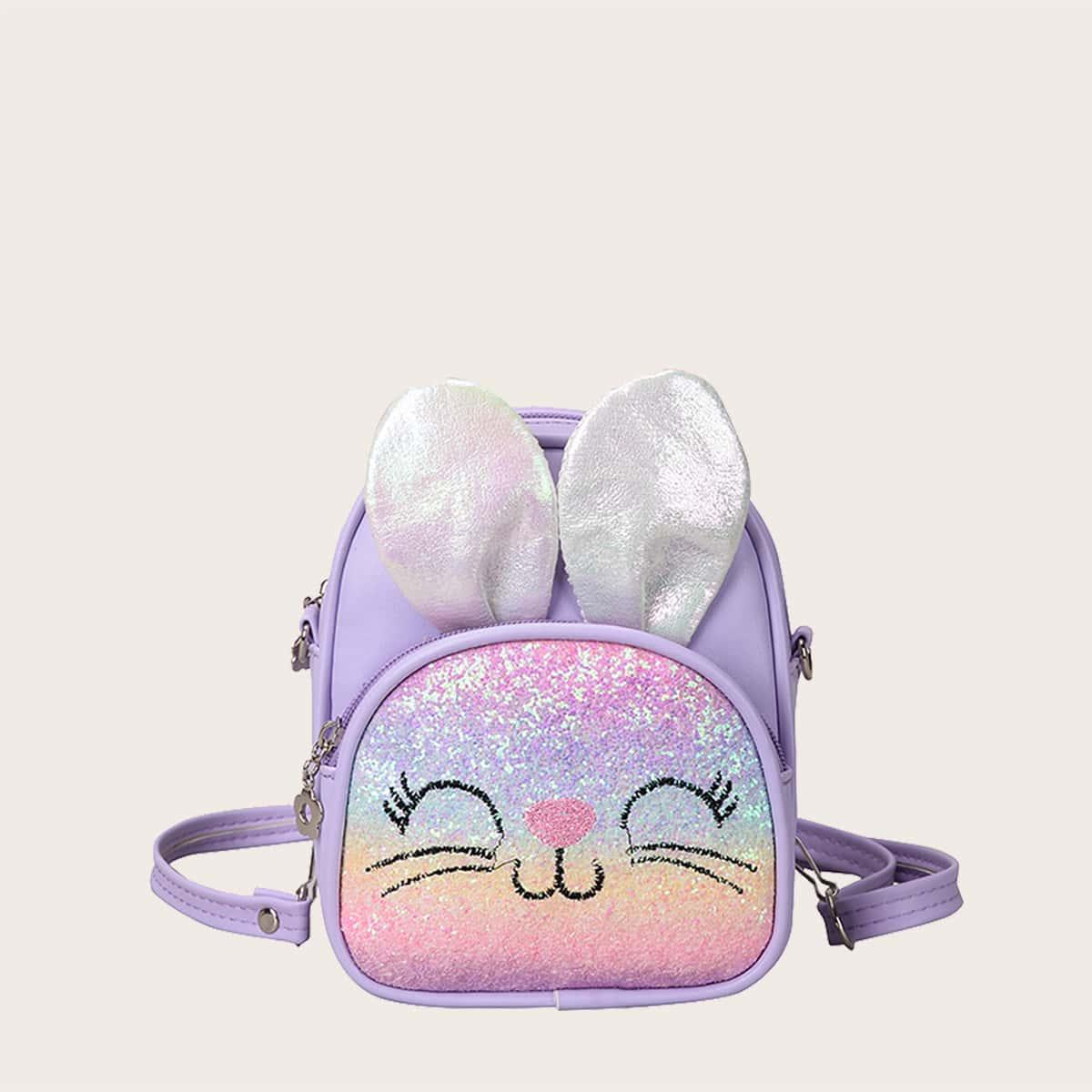 Рюкзак с мультипликационным декором для девочек