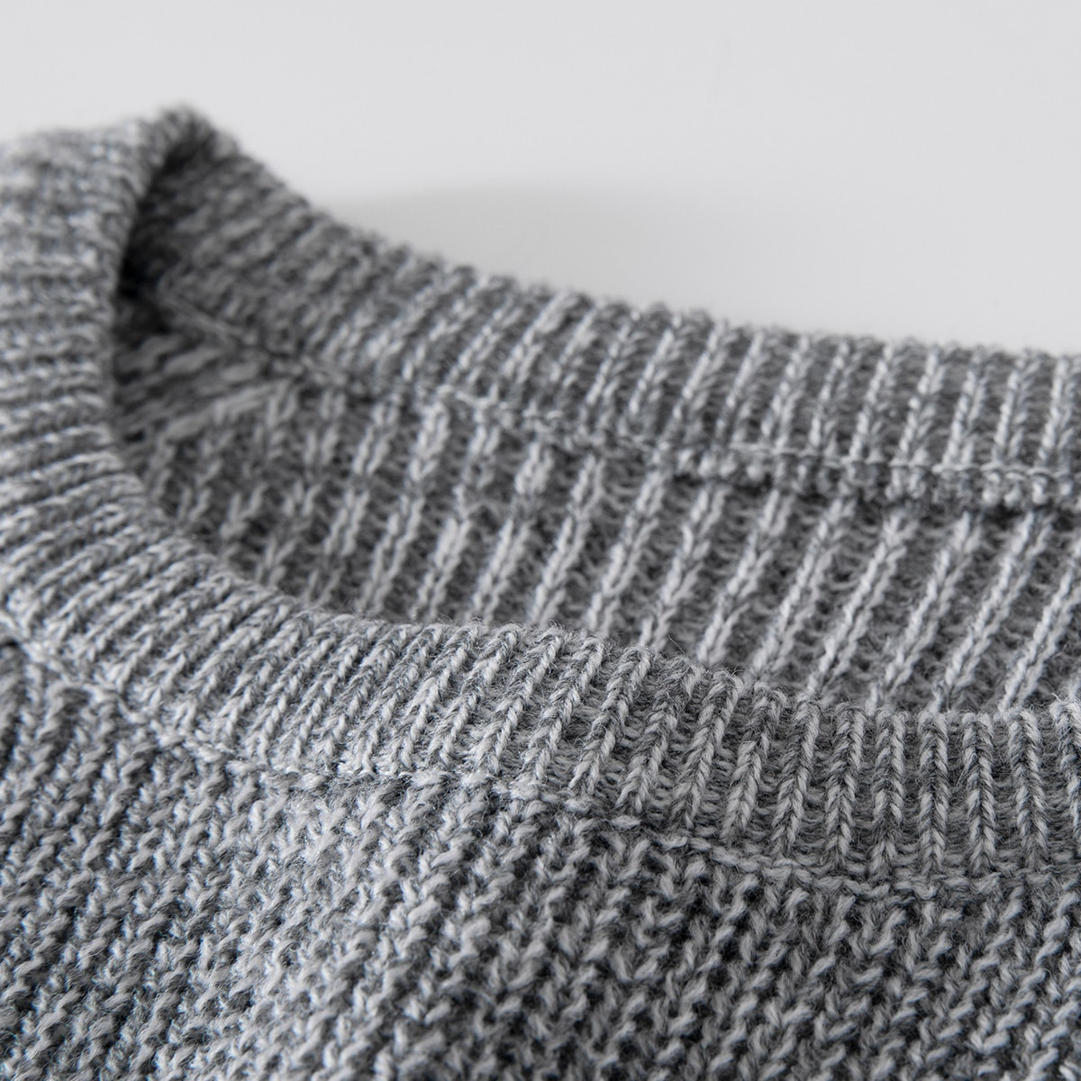 Men 1pc Ribbed Knit Color Block Sweater