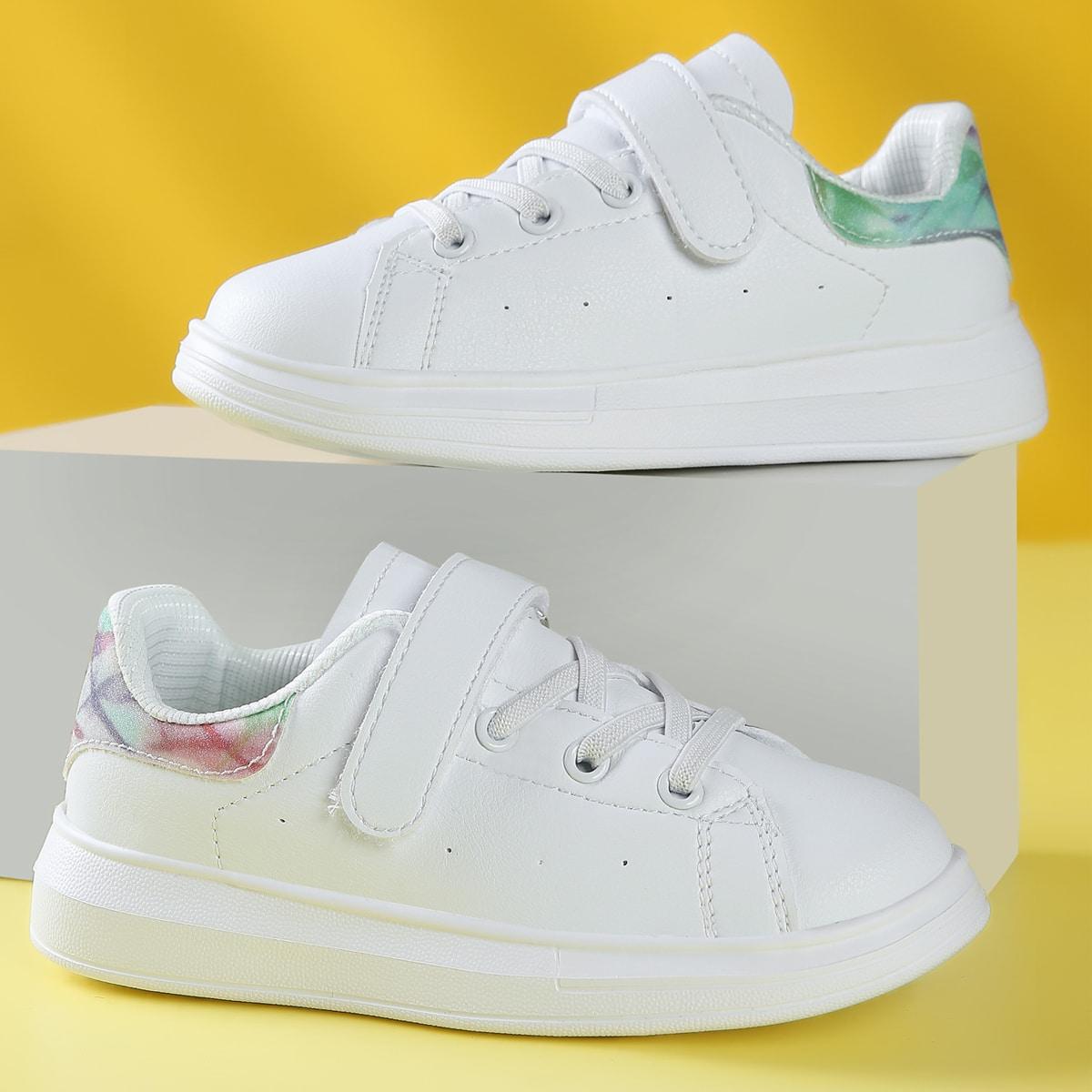 для девочек Обувь для скейтбординга минималистичный на липучке от SHEIN