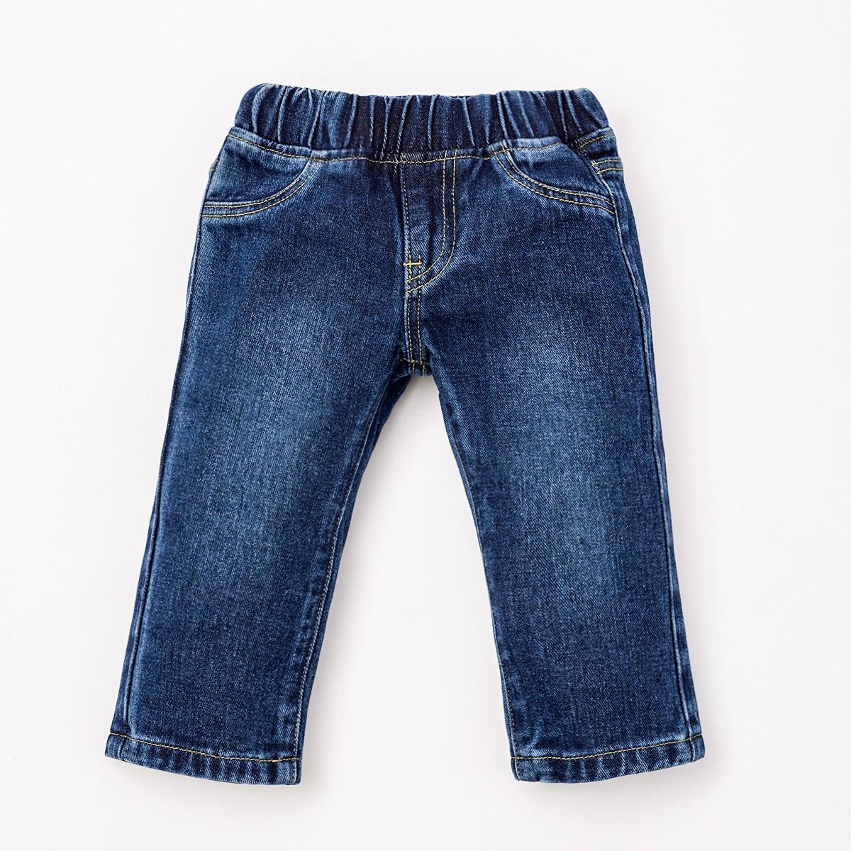 детский Джинсы с прямыми штанинами от SHEIN