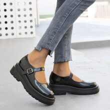 Ankle Buckle Wedge Sandals