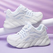 Lace Up Front Chunky Trainers