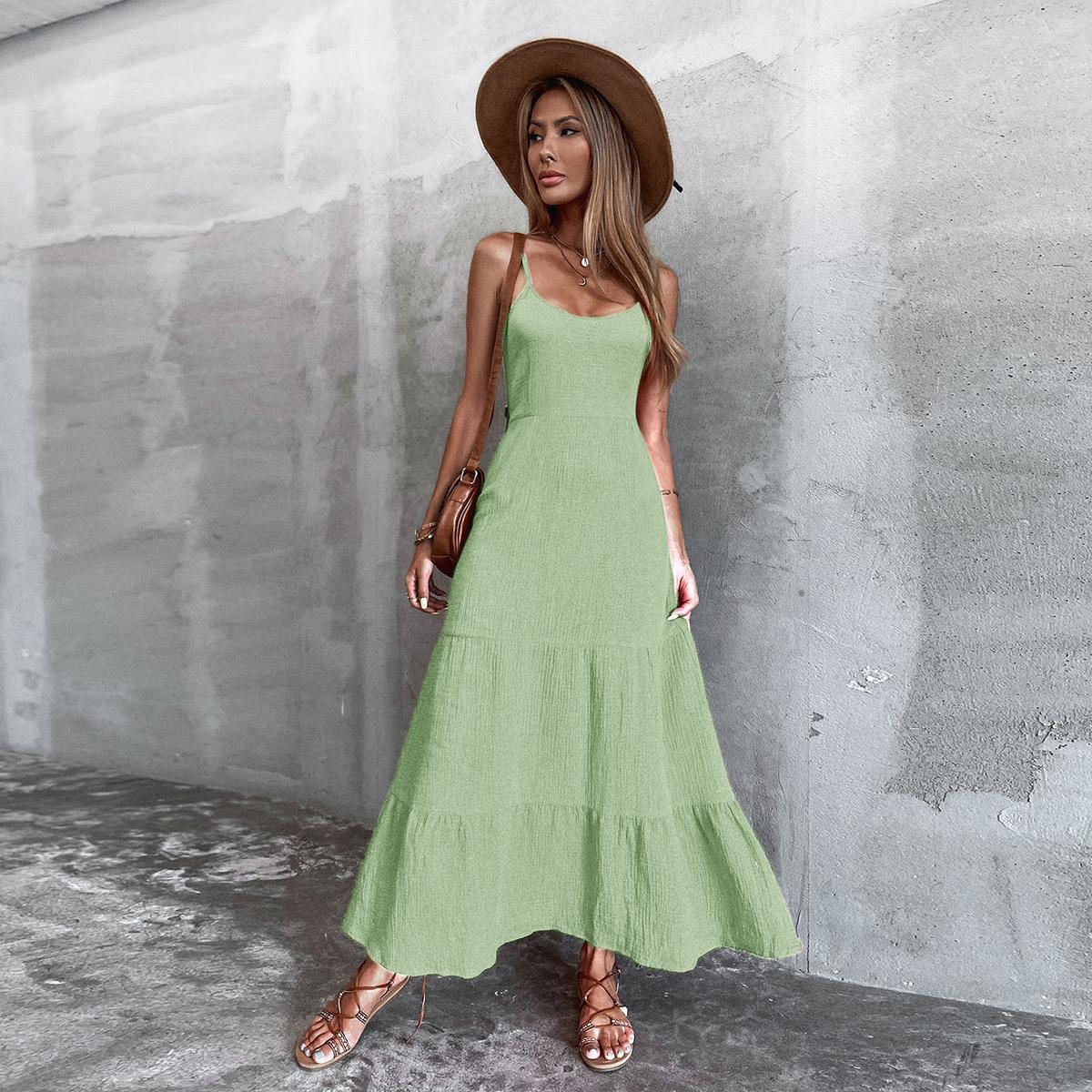 Платье на бретелях SheIn sw2106234529534115