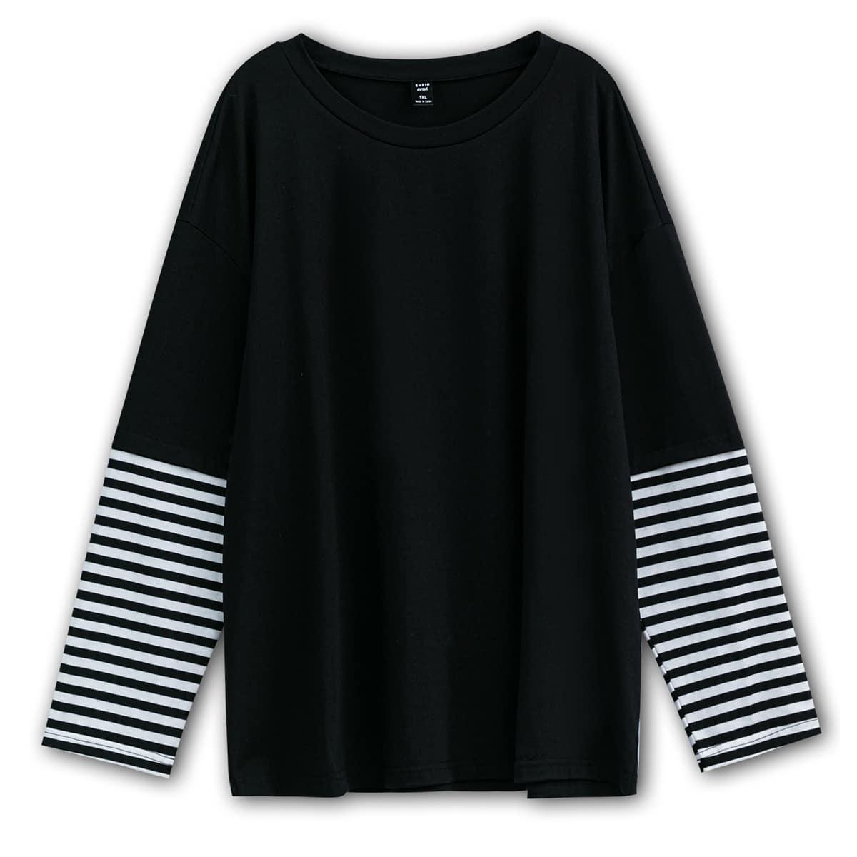 T-shirt manche