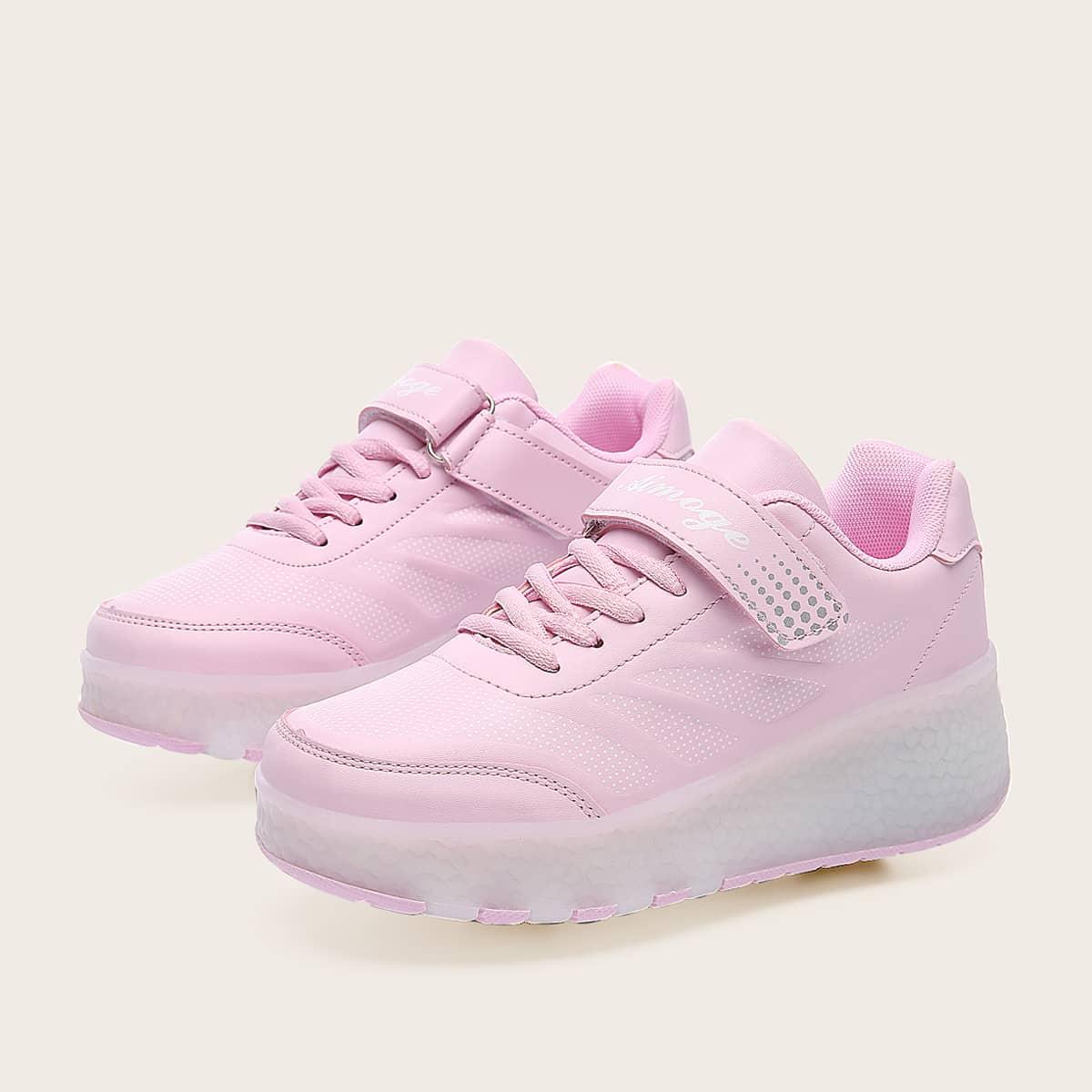 Обувь для коньков со светодиодной подсветкой для девочек от SHEIN