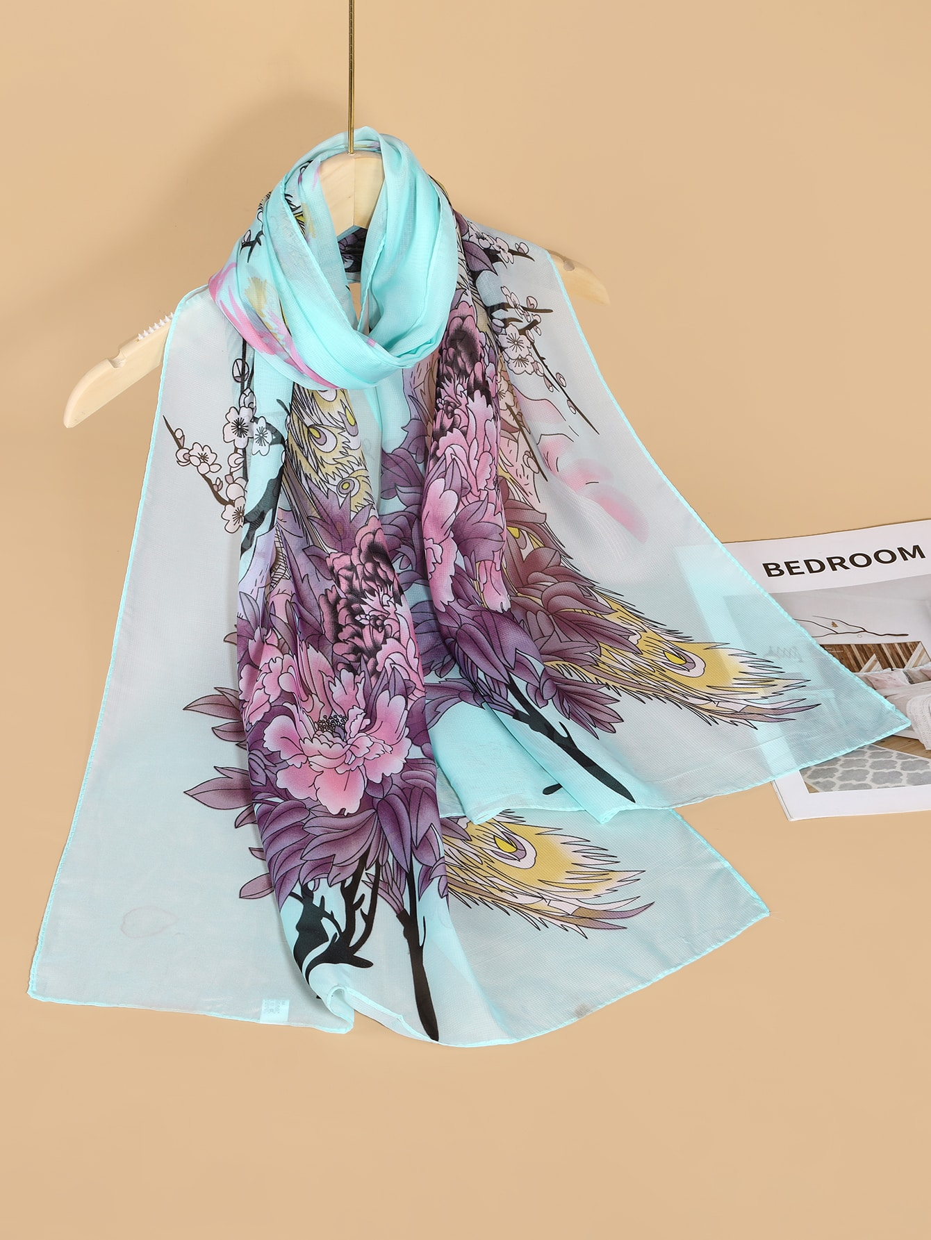 50 Gift Ideas for Mums | Printed Scarf | Beanstalk Mums