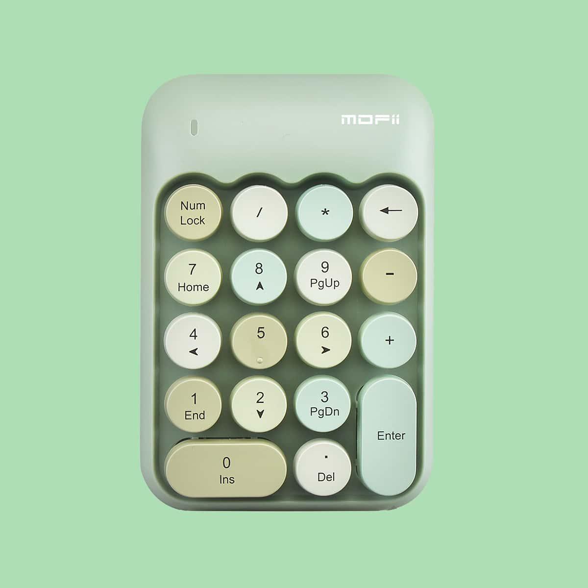 Клавиатура контрастный беспроводной цифра