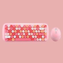 Round Key Keyboard & Mouse Combo