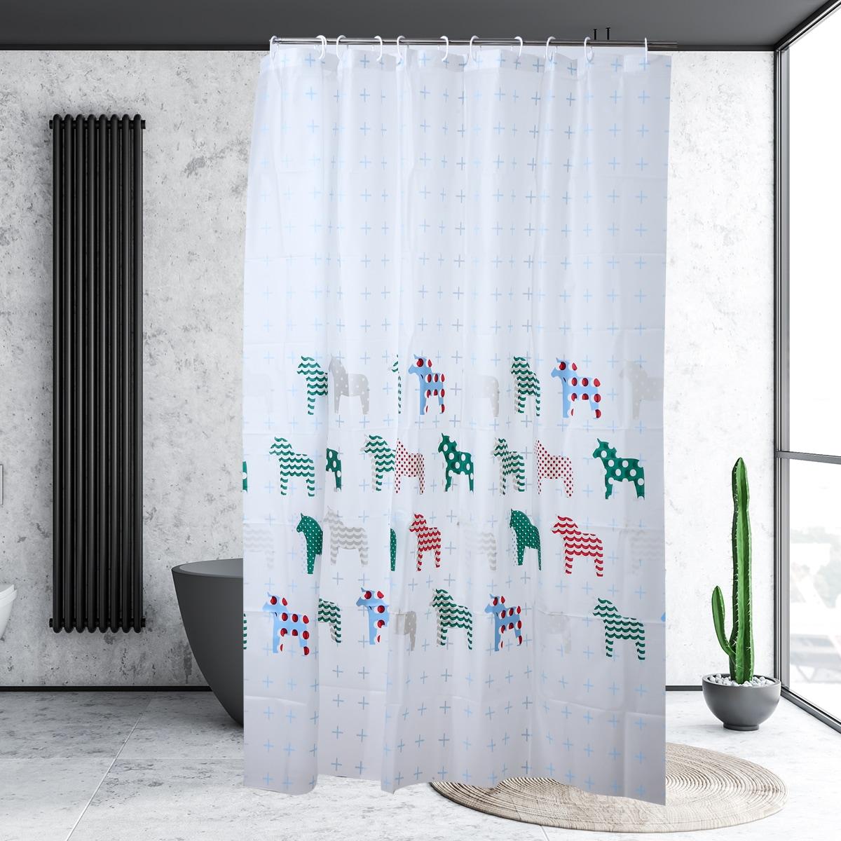 Cartoon Graphic Shower Curtain