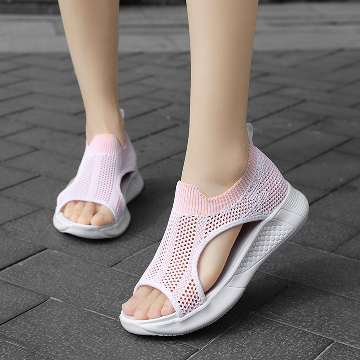Hollow Out Cut Out Sports Sandals