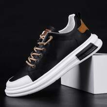 Guys Lace-up Front Low Top Skate Shoes