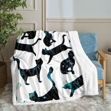 Cat Print Blanket