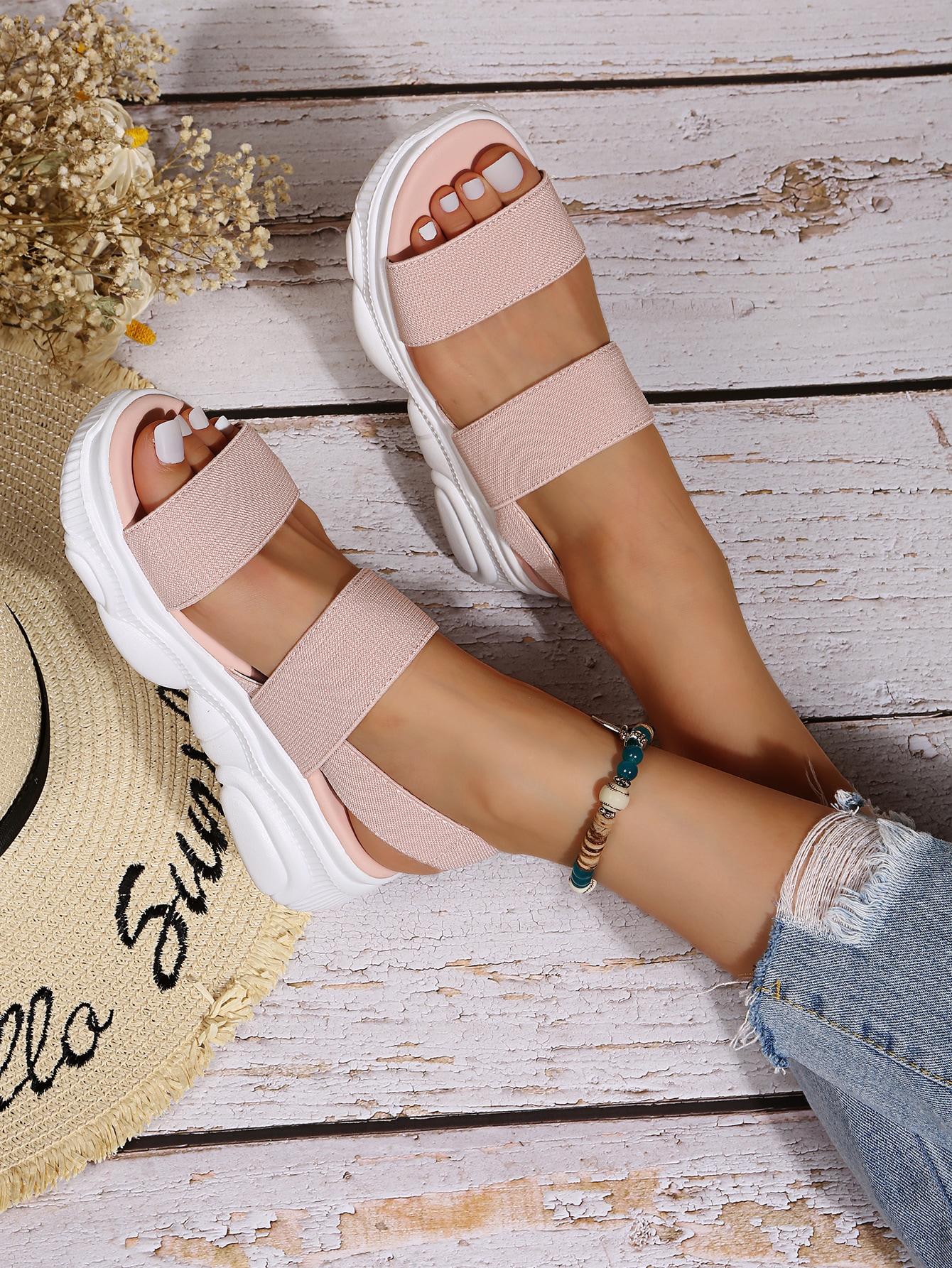 Minimalist Wedge Sandals