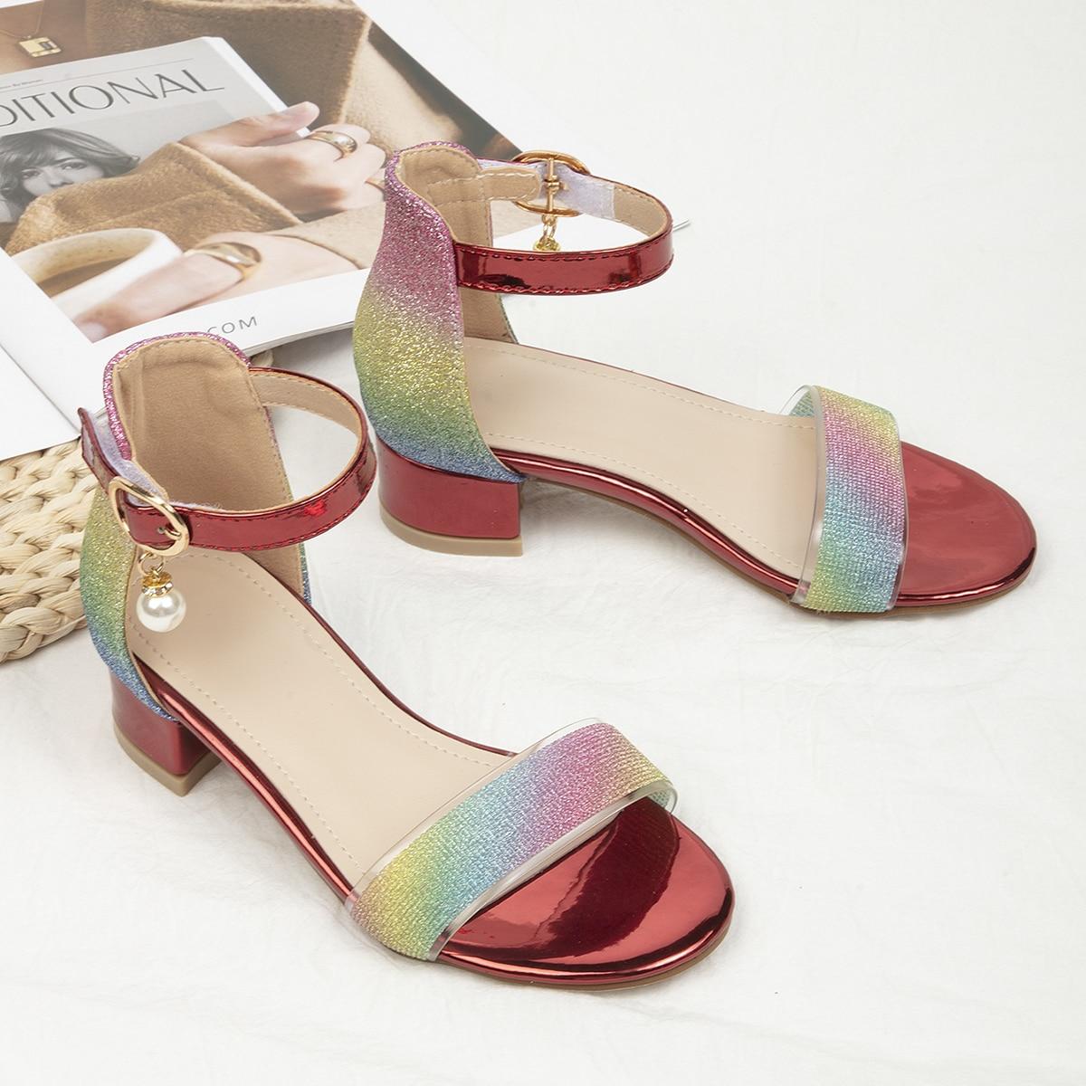 Металлические ботинки для девочек от SHEIN