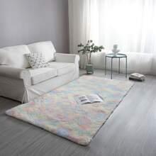 Tie Dye Plush Carpet