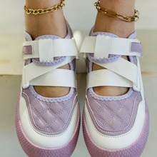 Quilted Elastic Sneakers