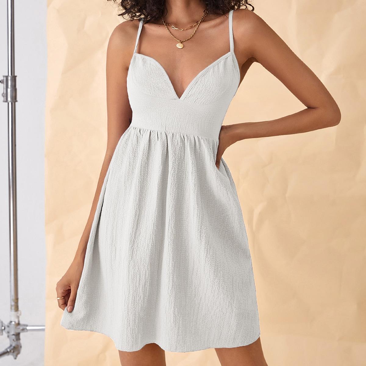 Платье на бретелях SheIn swdress25210609143