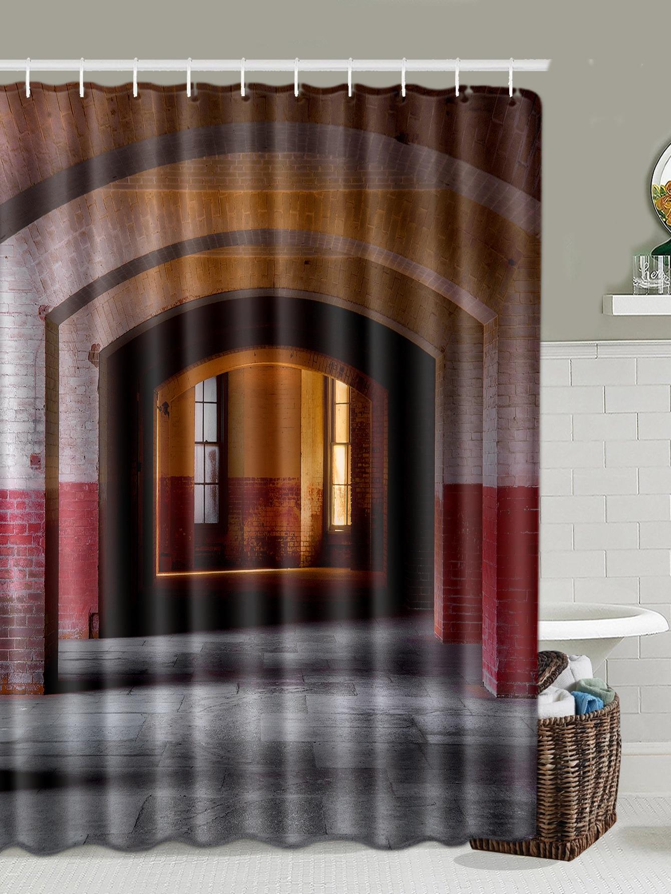 Aisle Print Shower Curtain