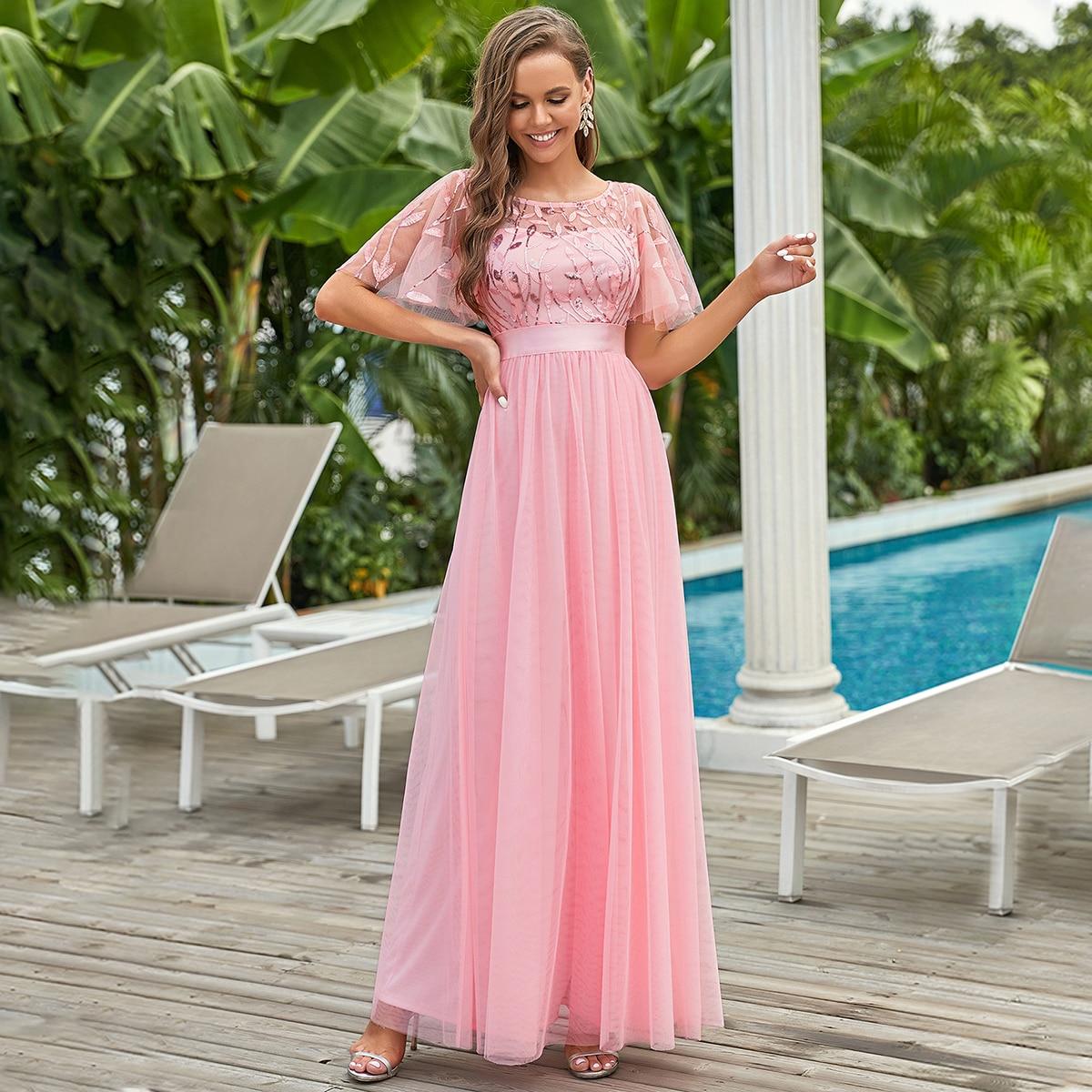 Платье макси SheIn sw2106224113116667