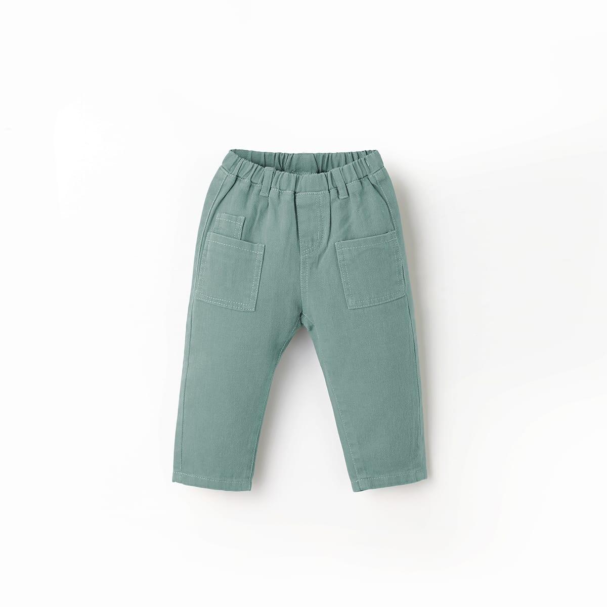 Джинсы с карманами для мальчиков