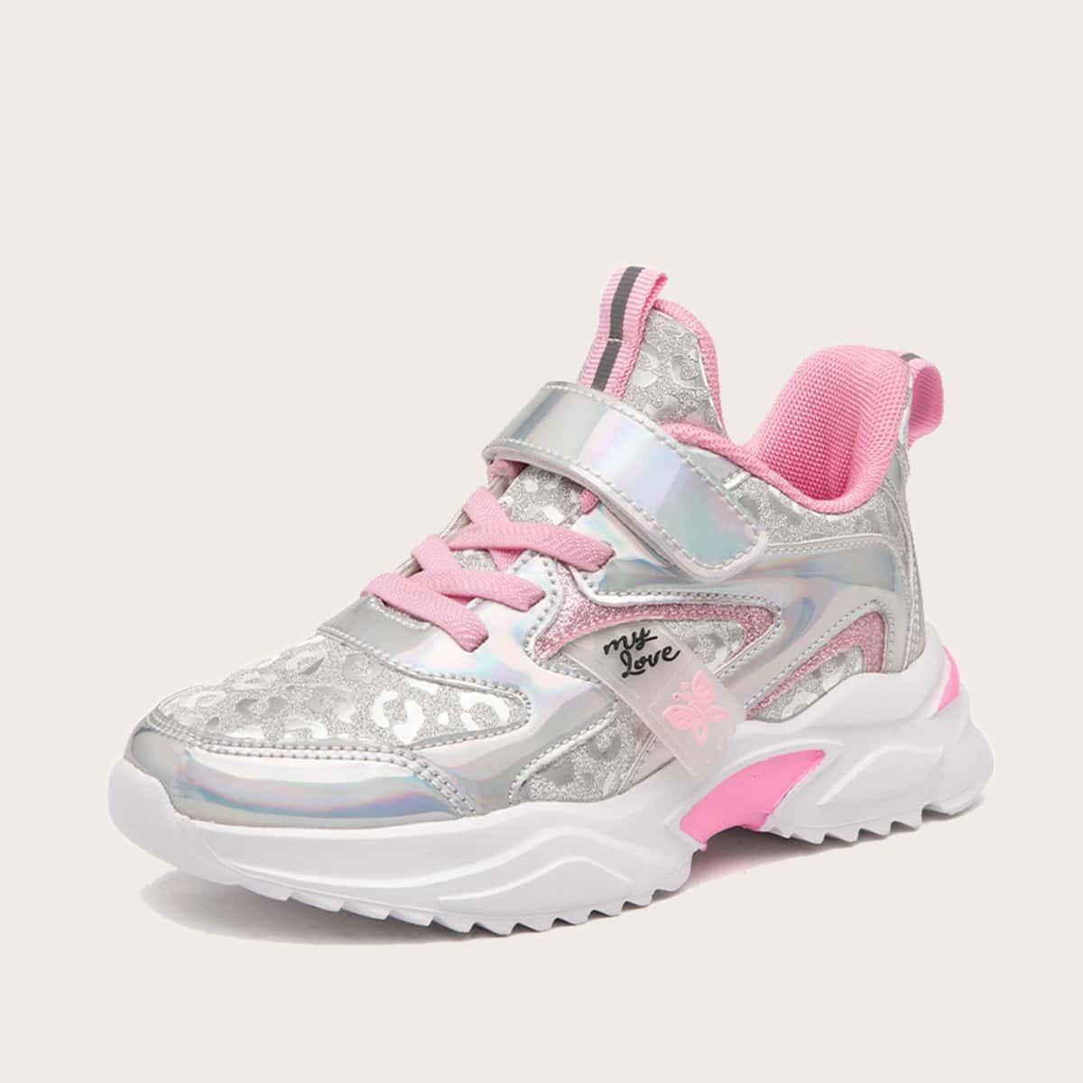 Голографические кроссовки для девочек от SHEIN