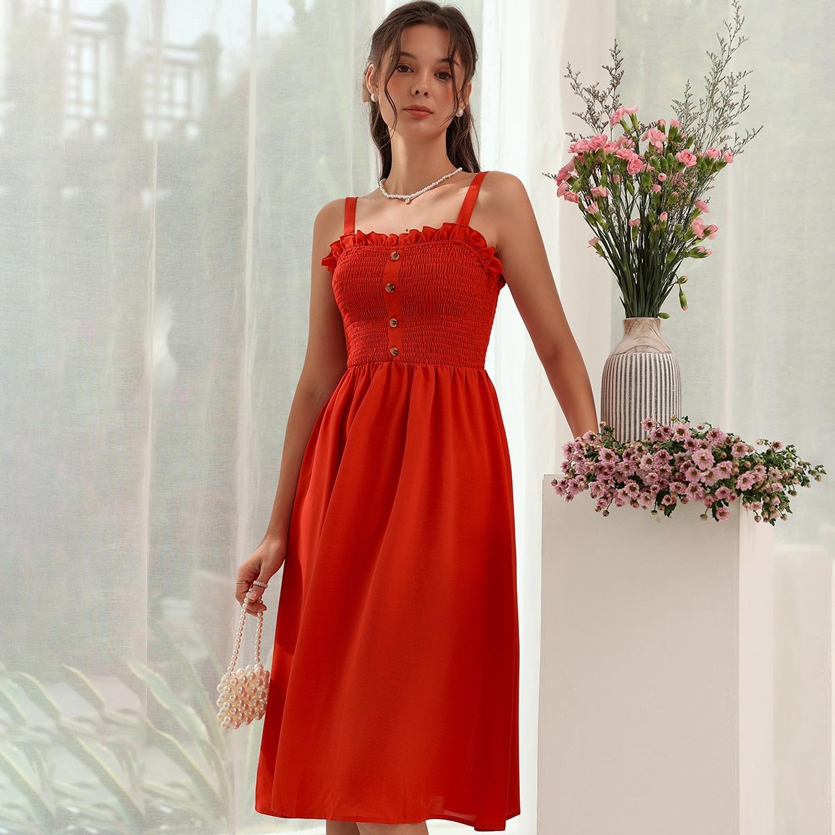 Платье на бретелях SheIn swdress44210604737