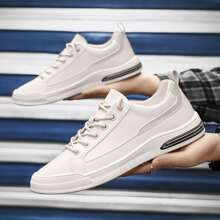 Guys Minimalist Lace-up Sneakers