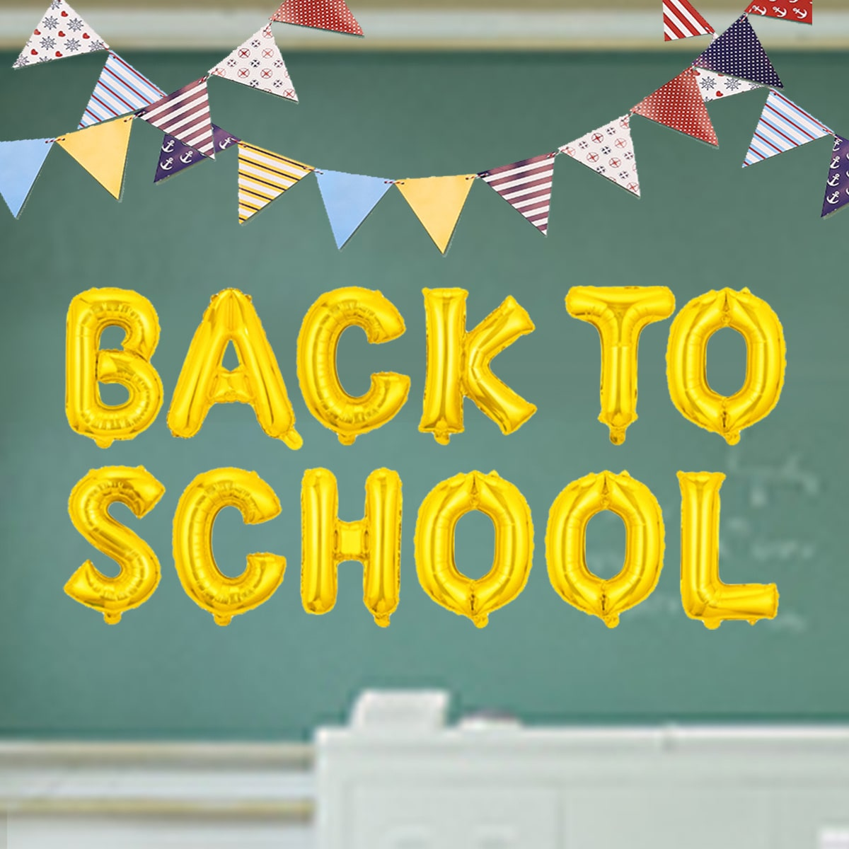 1Back To School Balloon, SHEIN  - buy with discount