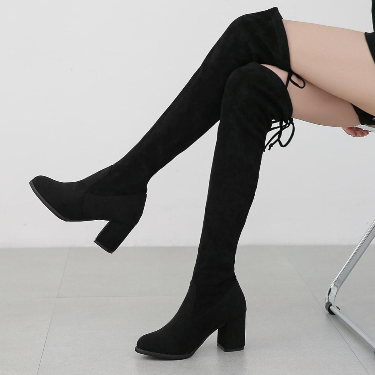 Минималистичные классические ботинки на шнурке