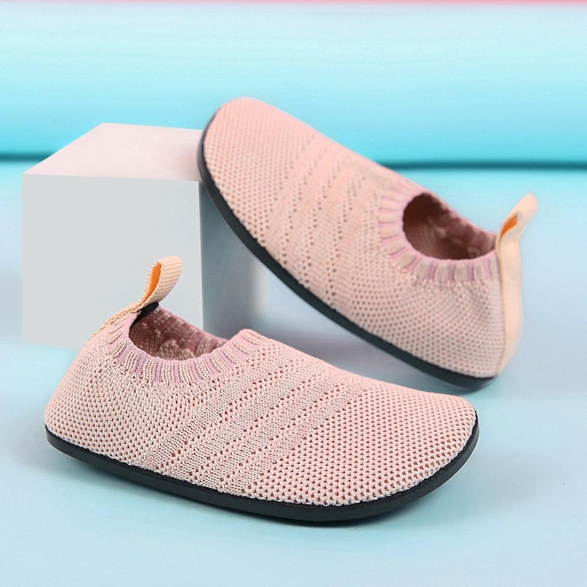 Вязаные кроссовки для девочек от SHEIN