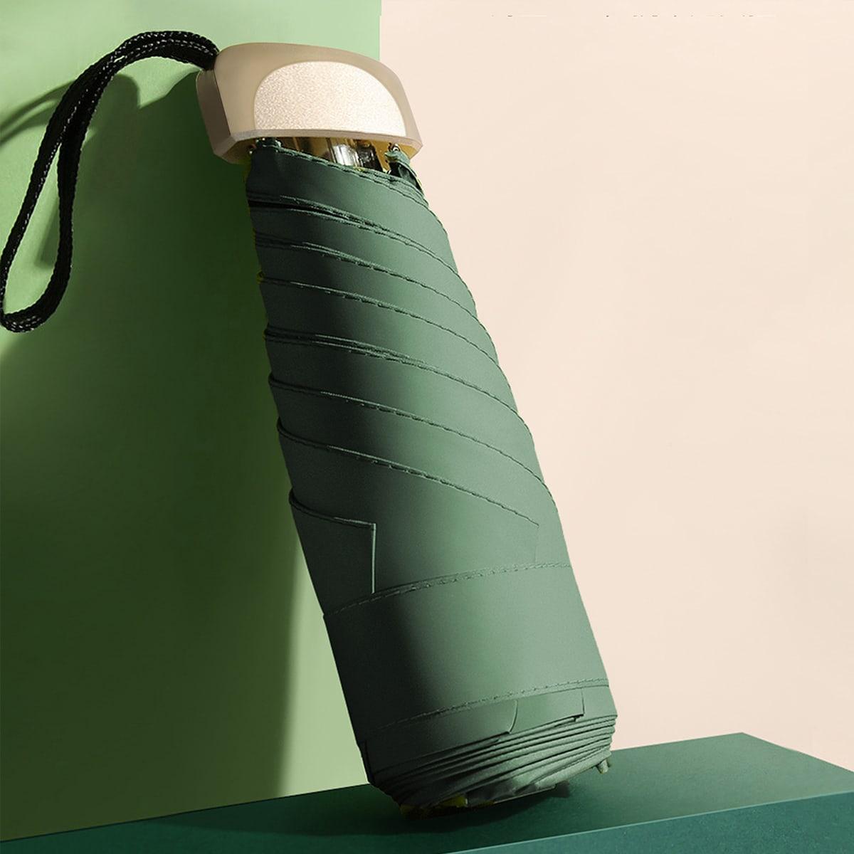 Зонт мини с защитой