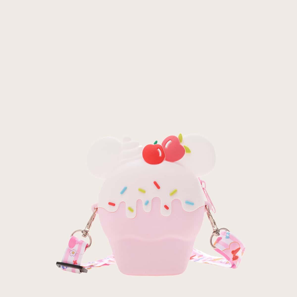 Сумка через плечо с цепочкой в форме мороженого для девочек SheIn sk2107142893138446