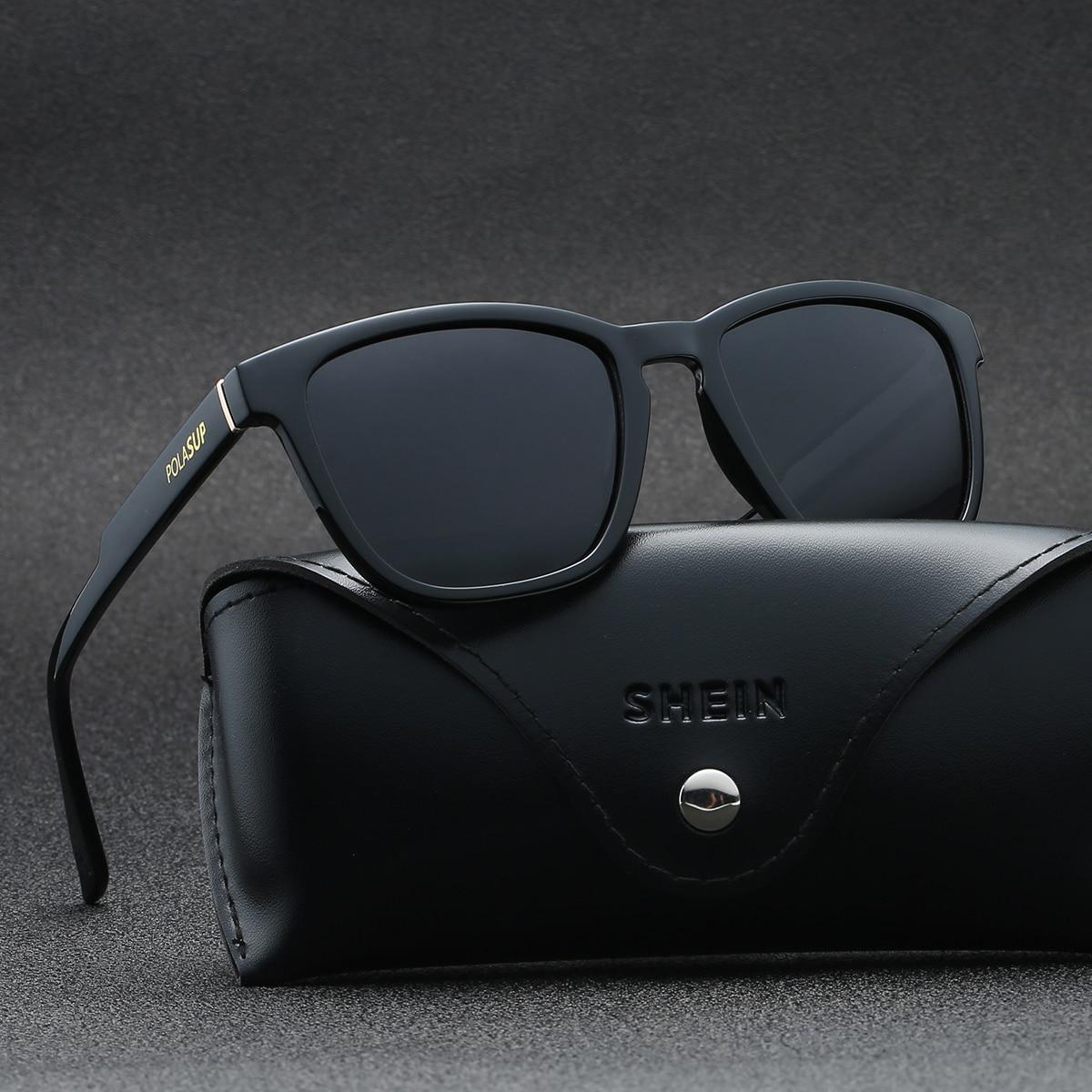 Поляризованный Классические Вайфареры Мужские солнечные очки