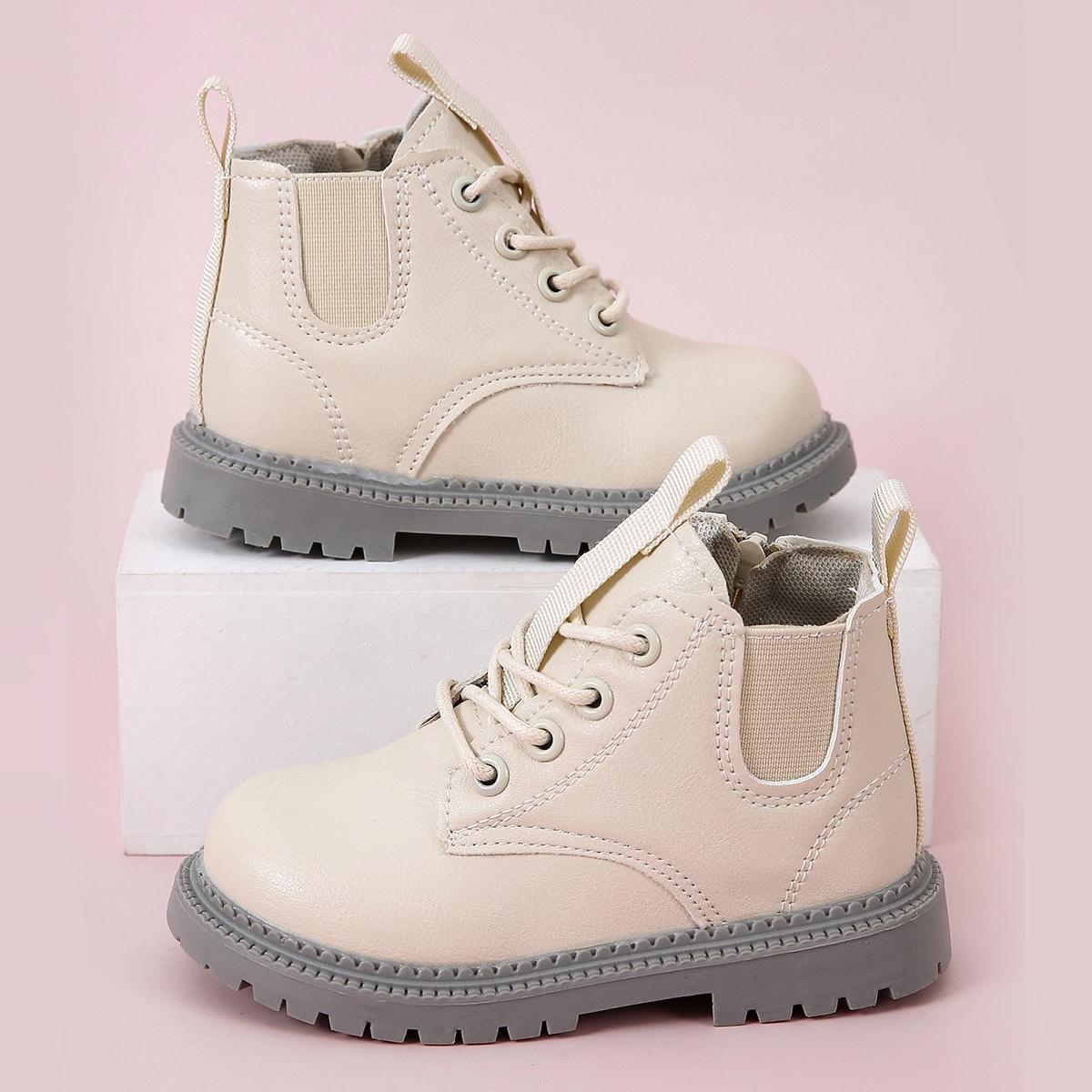 Ботинки на шнурках для мальчиков SheIn sk2107147211109393