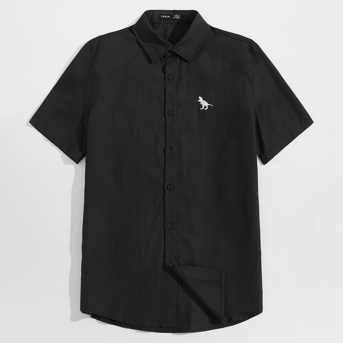 Мужская рубашка с вышивкой