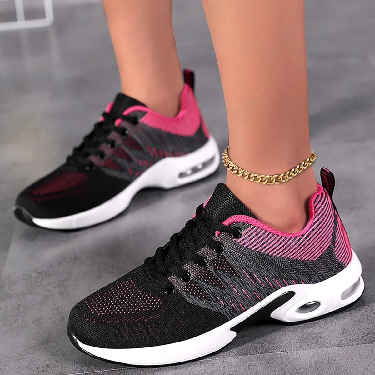 Минималистичная дышащая беговая обувь на шнурках