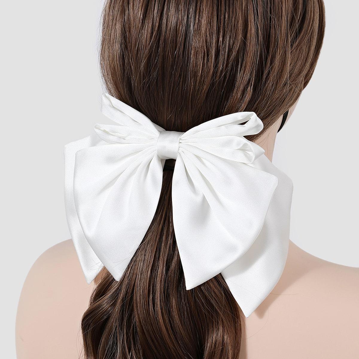 Зажим для волос с бантом