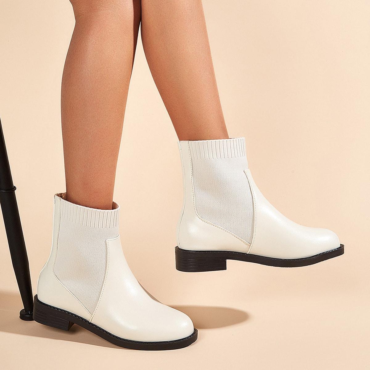 Ботинки челси минималистичный