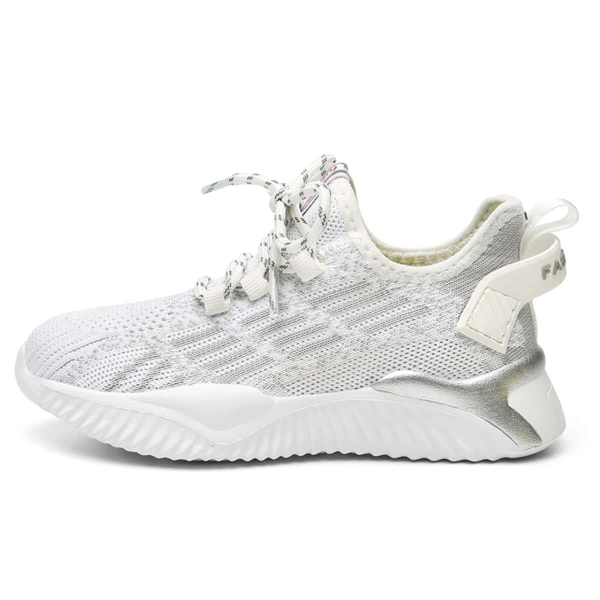Вязаная беговая обувь для мальчиков от SHEIN