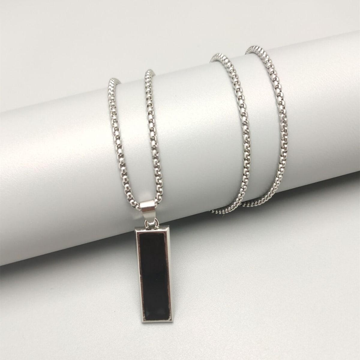 Мужской Ожерелье с геометрическим декором