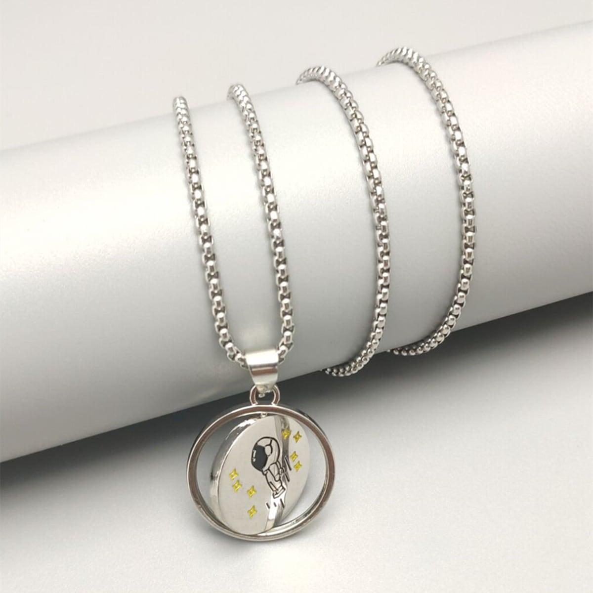 Мужской Ожерелье с круглым декором