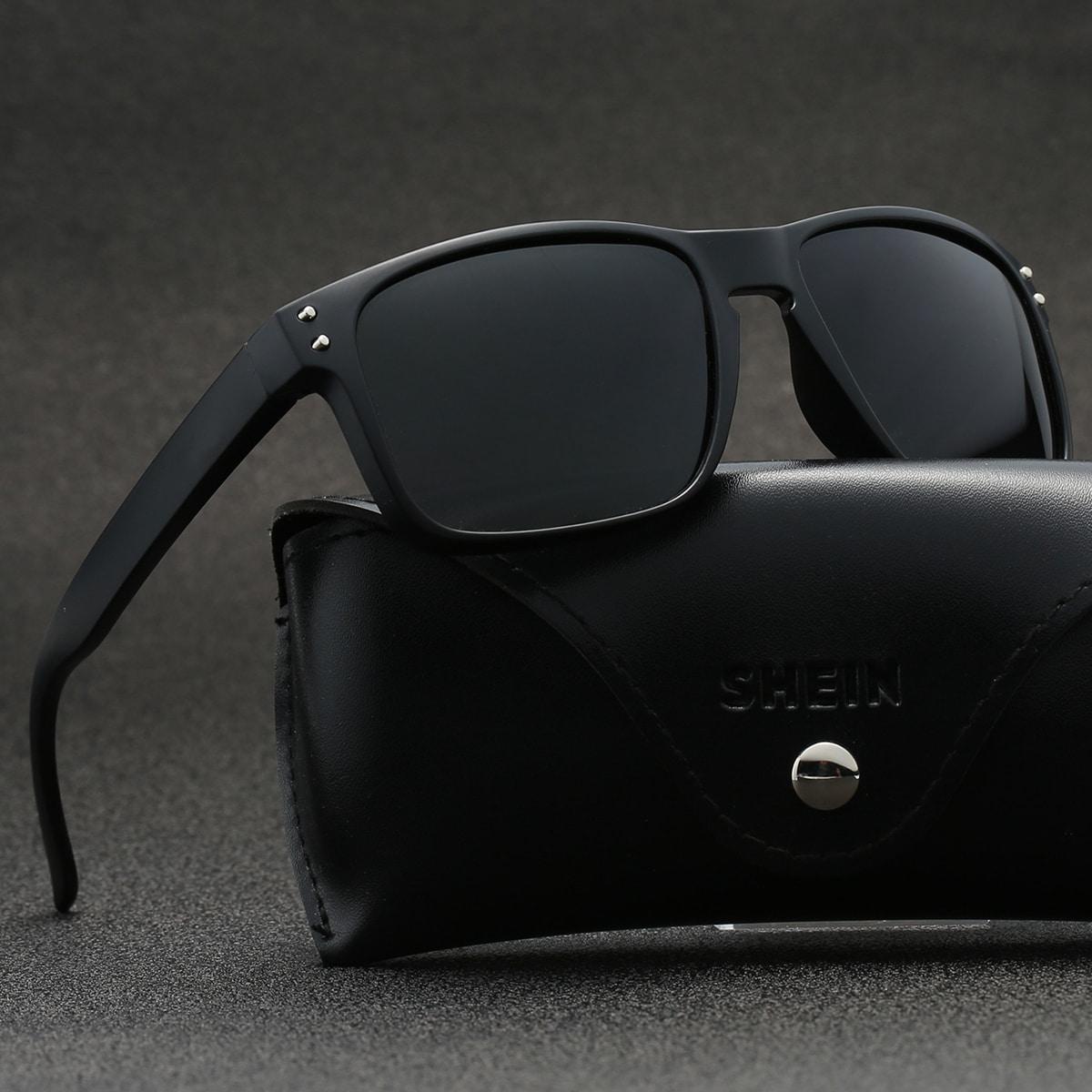 Мужские поляризованные спортивные солнцезащитные очки от SHEIN