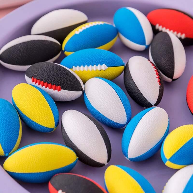 1pc Random Football Eraser, Multicolor