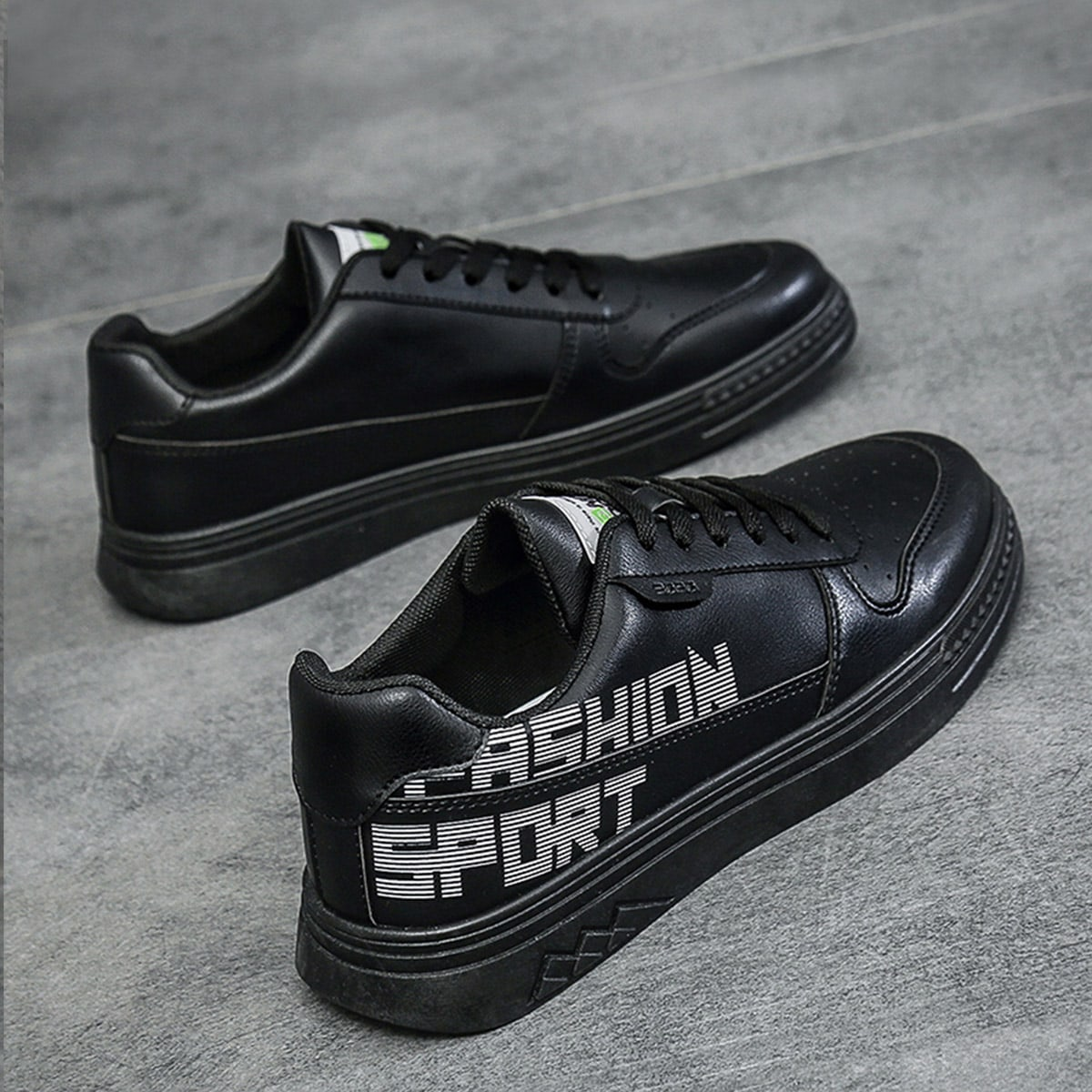 Мужской Обувь для скейтбординга с текстовым принтом