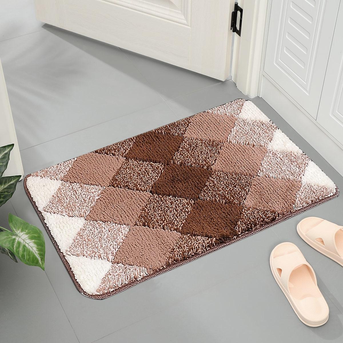 Напольный коврик с геометрическим узором
