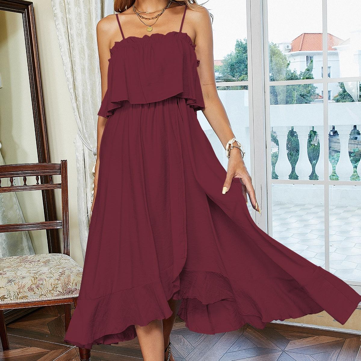 Платье на бретелях SheIn sw2107052224519179