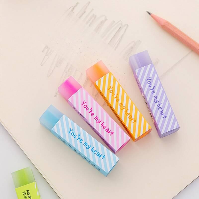 1pc Random Color Eraser, Multicolor