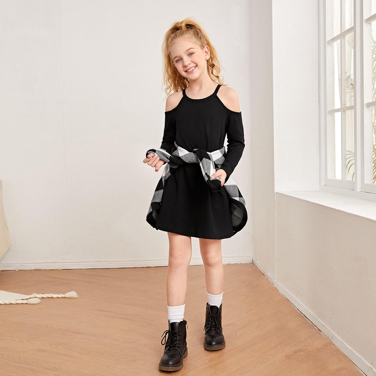 Платье-туника для девочек