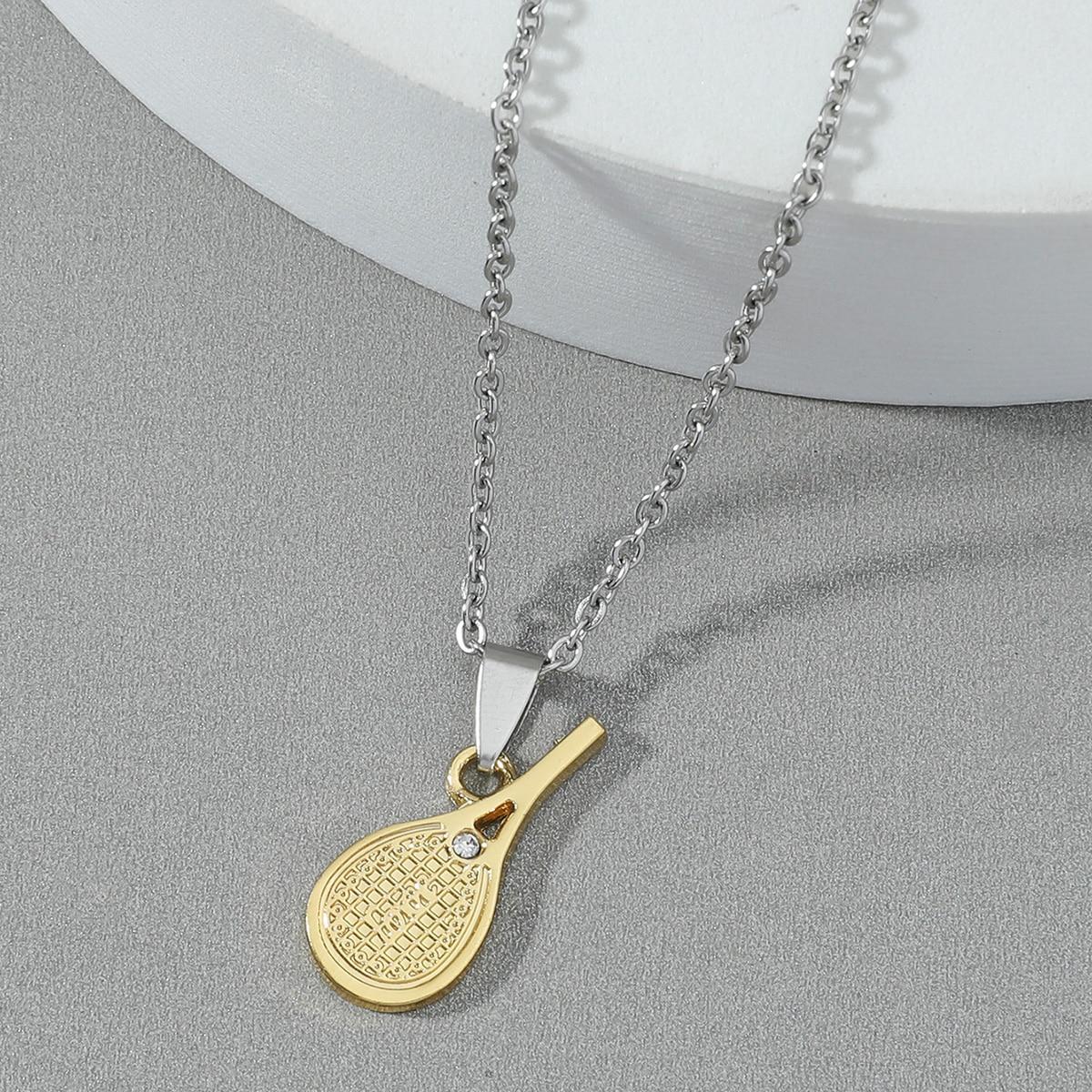 Мужской Ожерелье теннисная ракетка